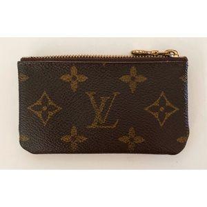 Authentic Louis Vuitton Monogram Coin Card Pouch